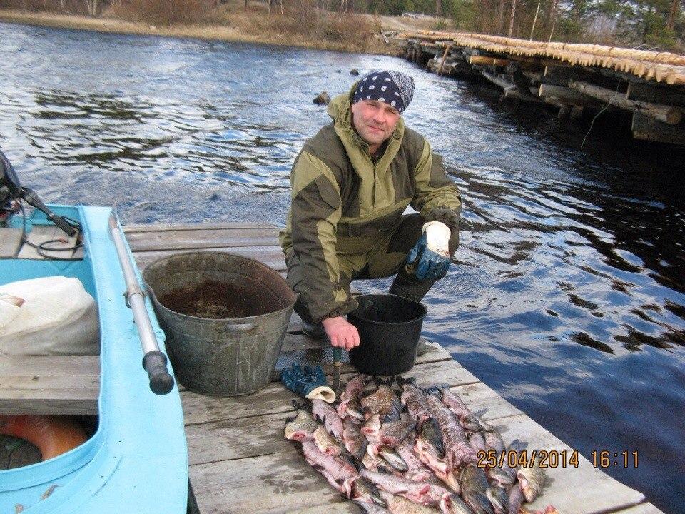 река пажа карелия рыбалка